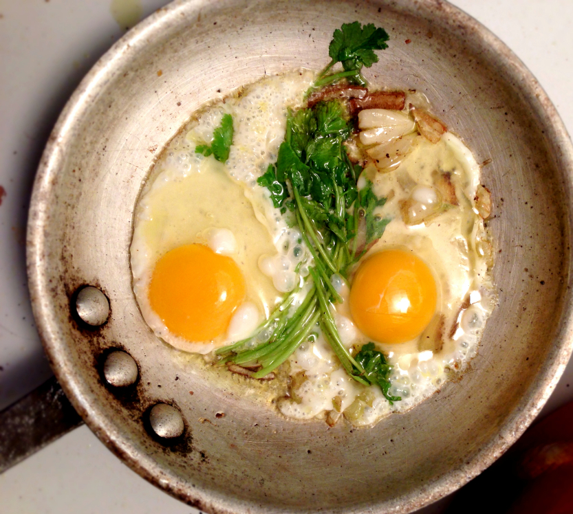 sunny eggs side up