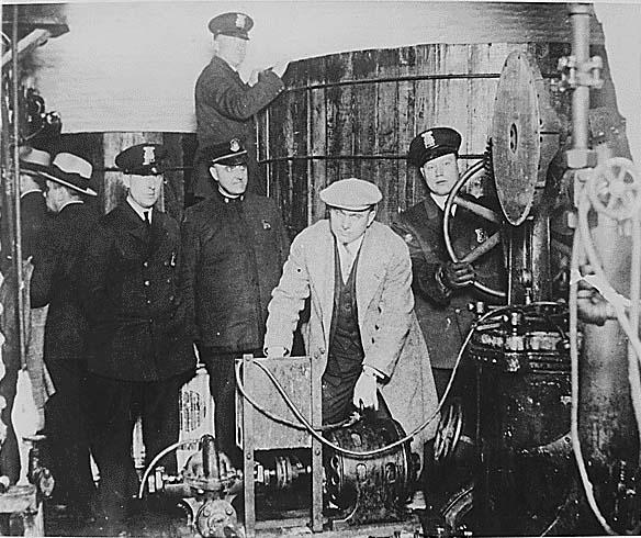 Rum running in Detroit